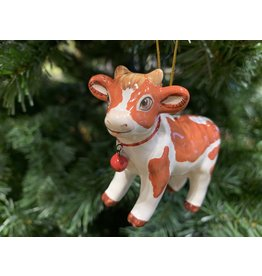 Kitmir Cow Ornament (Medium)