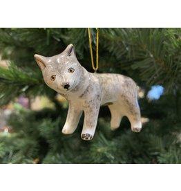 Kitmir Wolf Ornament (Medium)