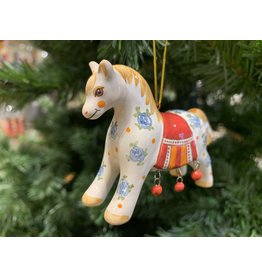 Kitmir Decorative Horse Ornament (Red)