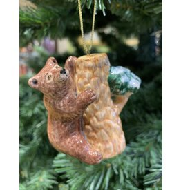 Kitmir Bear on Tree Ornament