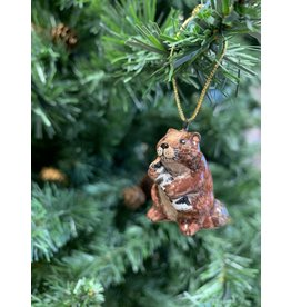 Kitmir Beaver Ornament