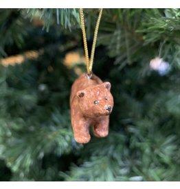 Kitmir Brown Bear Ornament (Small)