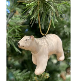 Kitmir Polar Bear Ornament