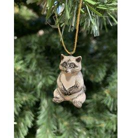 Kitmir Raccoon Ornament