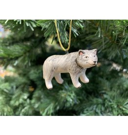 Kitmir Wolf Ornament (Small)