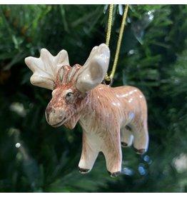 Kitmir Moose Ornament (Small)