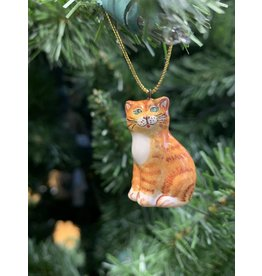 Kitmir Tabby Cat Ornament