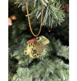 Kitmir Frog Ornament (Small)