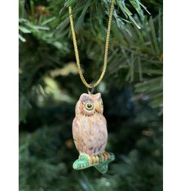 Kitmir Brown Owl Ornament