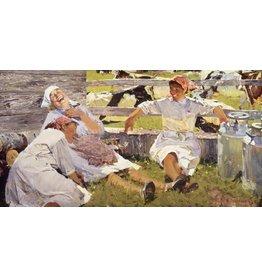 Milkmaids Postcard