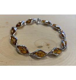 Amber Blossom Bracelet