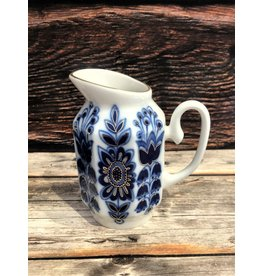 Imperial Lomonosov Blue Field Cream Pitcher