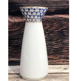 """Lomonosov """"Cobalt Net"""" Vase"""