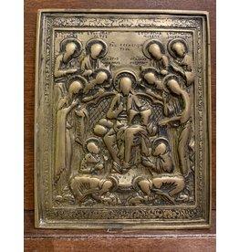 """18th Century Russian """"La Pietà"""" Icon"""