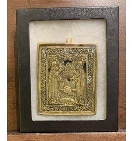 "19th Century Russian ""Saints"" Icon"