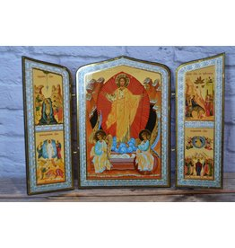 "Russian Triptych ""Resurrection"" Icon"