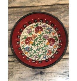 "Black Sea Pottery Medium ""Tulip"" Bowl (Red)"