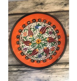 "Black Sea Pottery Medium ""Tulip"" Bowl (Orange)"