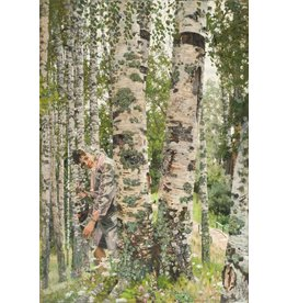 Among the Birch Trees Print