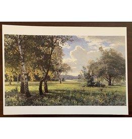 """Titov """"Summer Landscape"""" Postcard"""
