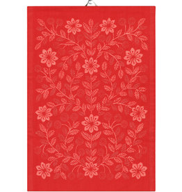 Rodbo Tea Towel in Holiday Red