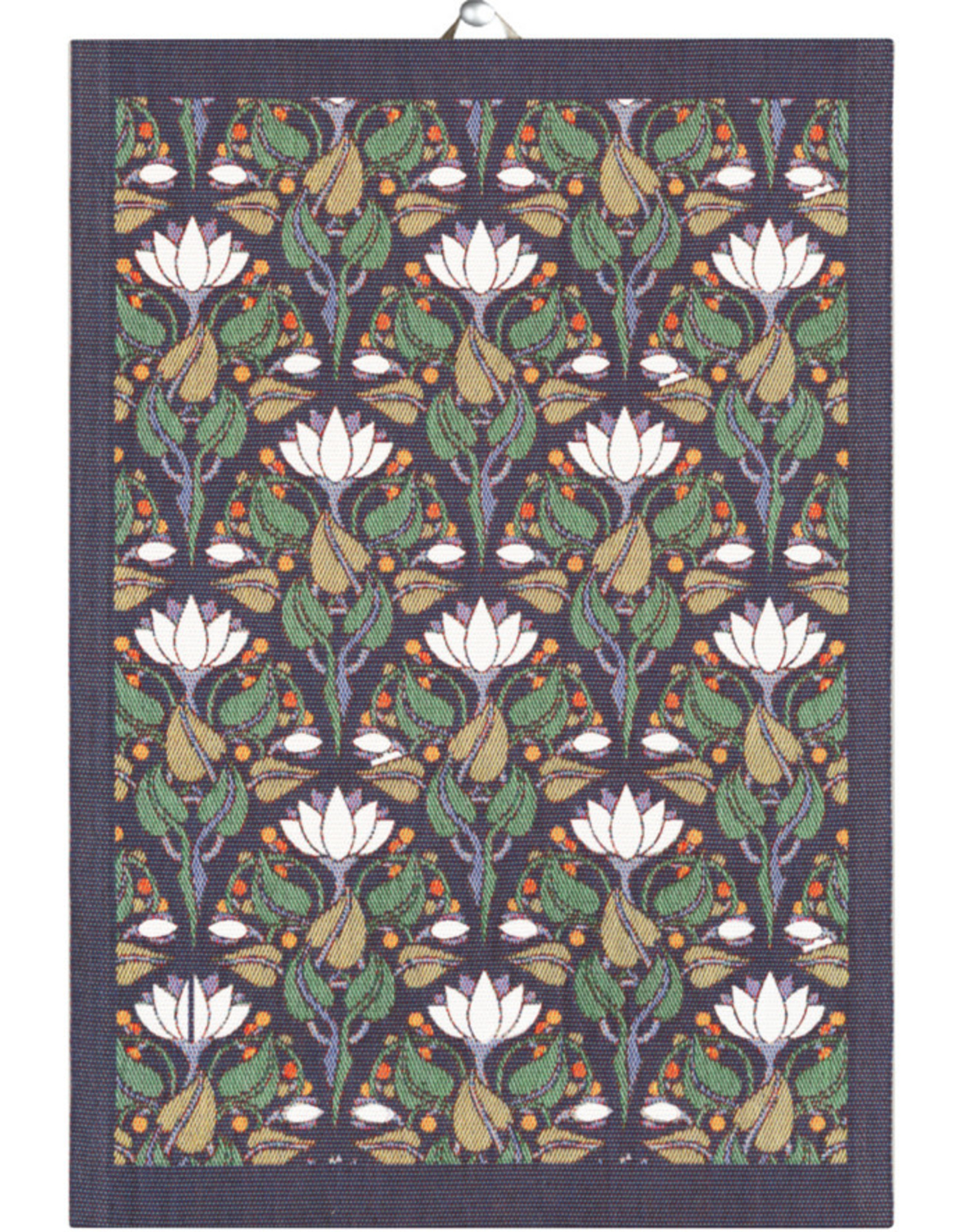Lilies Tea Towel