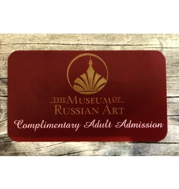 Complimentary Adult Admission Gift Card