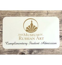 Complimentary Student Admission Gift Card
