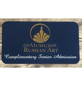 Complimentary Senior Admission Gift Card