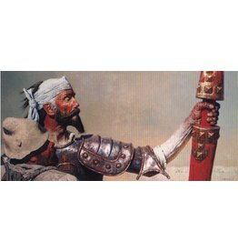 "Korzhev ""Don Quixote and Sancho Panza"" Postcard"