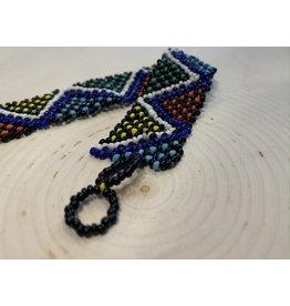 OVS Ukrainian Folk Beaded Bracelet (Multicolor)