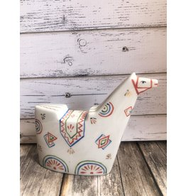 Porcelain Russian Horse Figurine