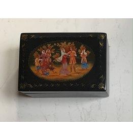 Lacquer Box with Autumn Dance Scene