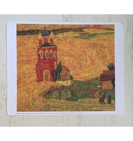 """""""Earth Suzdal"""" (Yukin) 10x8 Print"""