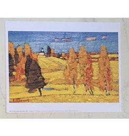"Britov ""Autumn Near Mstera"" 8 x 10 Print"
