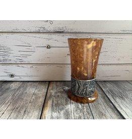 Amber Shot Glass
