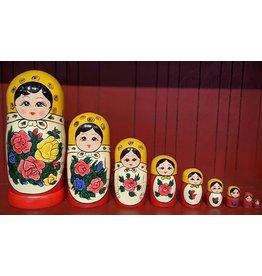 Semenov Matryoshka Doll (10-Piece)