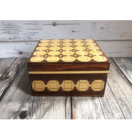 Belarusian Inlaid Wood Jewelry Box