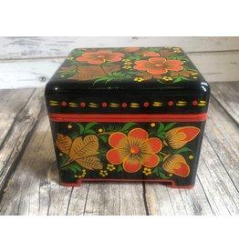 Khokhloma  Painted Wood Box