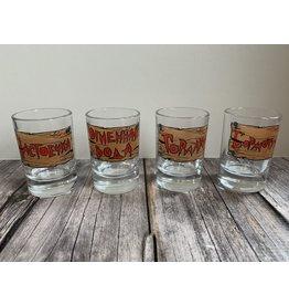 """""""Slang for Vodka"""" Shot Glass"""