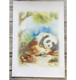 "Andreeva ""Pillow Pals"" 12 x 18 Print (Signed)"