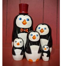Penguin Matryoshka (Red Hat)