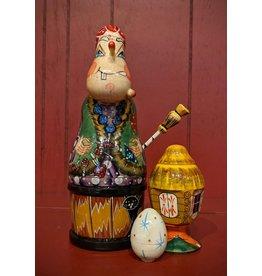 Baba Yaga Matryoshka Doll