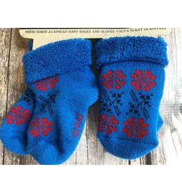 Baby Terry Socks and Mitten Set