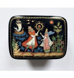 Lacquer Box with Tsar Sultan (Small)