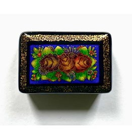 Lacquer Box with Pinecones (Small)