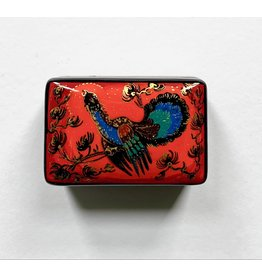 Lacquer Box with Peacock