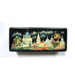 Lacquer Box of Suzdal City (Rectangle)
