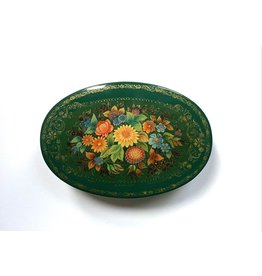 Lacquer Box with Morning Bouquet