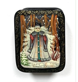 Lacquer Box with Snow Maiden